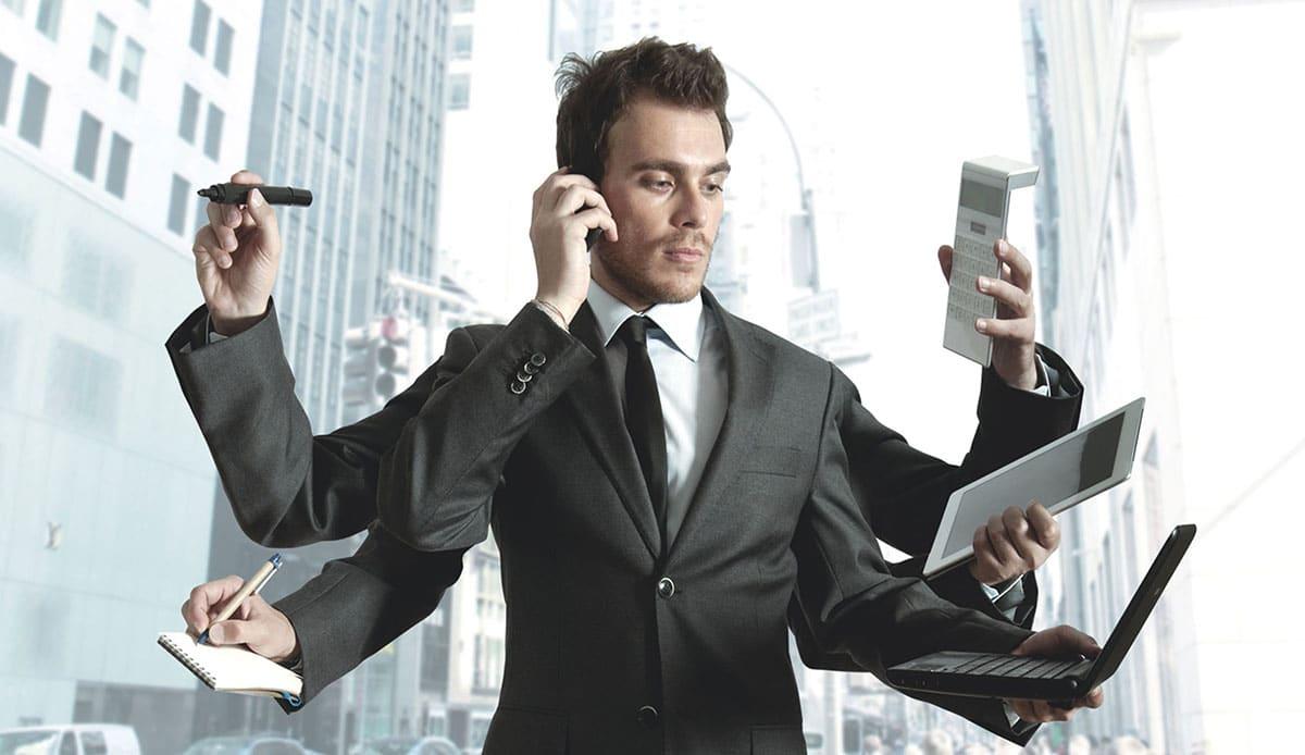multitache1-bloomingyou-10 leçons militaires qui vous aideront dans le Business