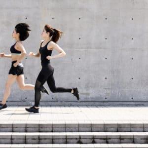 Courir comme on médite
