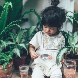 La médecine douce pour les enfants