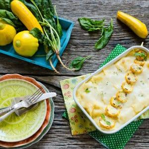 Lasagnes courgettes/épinards