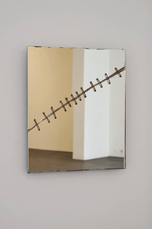 Repaired broken mirror/Kader Attia