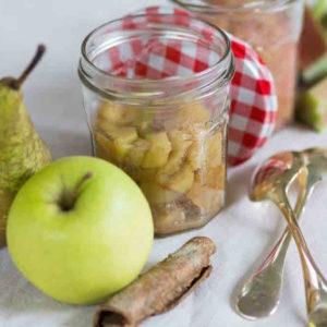 Facile… une compote de pomme
